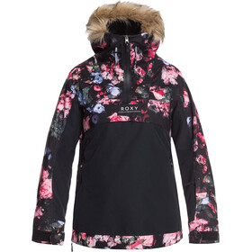Roxy Shelter Snow Jacket Women, true black blooming party